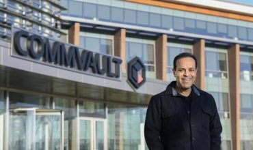 Sanjay Mirchandani, the new CEO for Commvault