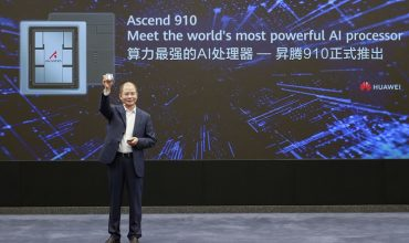 Huawei launches world's most powerful AI processor, Ascend 910