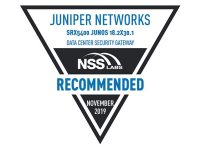 "Juniper Networks issued ""Recommended"" rating by NSS Labs"