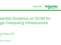 Schneider releases new Whitepaper on Next-Generation DCIM for Edge Computing