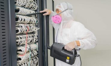 Dramatic rise in the specialised cleaning business for the data centres