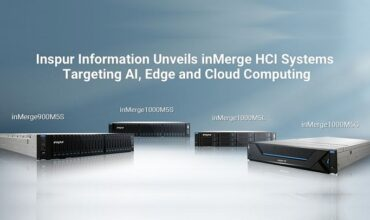 Inspur and Nutanix jointly unveils four inMerge HCI systems