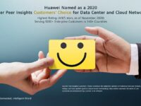 Huawei recognized by Gartner Peer Insights Customers' Choice for Data Center and Cloud Networking