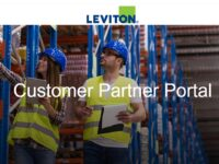 Leviton launches new eBusiness platform, Leviton B2B