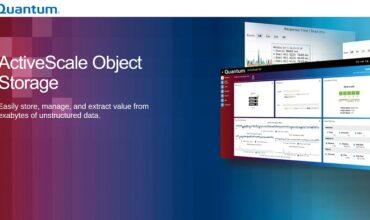 Quantum announces release of ActiveScale object storage software